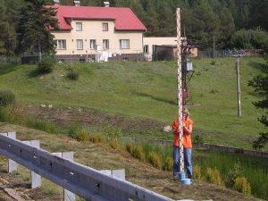 Geodezie Štekl - měření