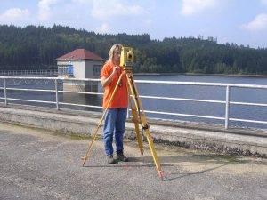Geodezie Štekl - měření v terénu