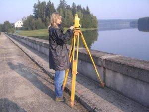 Geodezie Štekl - vyznačení vodního dílaGeodezie Štekl - vyznačení vodního díla